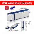 Best USB Flash Drive Mini Digital Audio Voice Recorder- Dictaphone- Memory stick- 8GB- Data pendrive activated- Compatible with windows, mac, pc- High speed- Disk- Spy gear gadget- Discreet, for professioal and students-