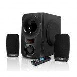 BluPulse | 2.1 Stereo Speaker System with Bluetooth wireless technology and USB/SD audio playback