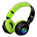 Blast | Stereo headphones with LED lights and Bluetooth® wireless technology