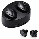 TwinBuds | True Wireless Stereo (TWS) earphones with Bluetooth wireless technology and portable charging case