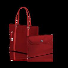Laptop Bag- Lady Red