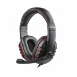 Stereo headset with microphone and volume control USB - KHS-505